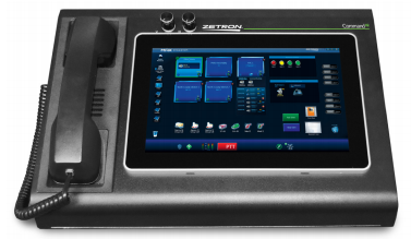 Zetron MAX Command IQ Portable Dispatch Workstation